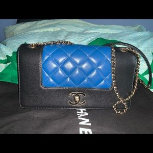 Authentic Chanel mademoiselle vintage flap bag